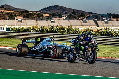 """Valentino Rossi: """"La F1 è cambiata, non volevo più scendere dalla macchina"""""""
