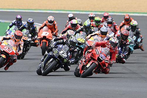 Положение в общем зачете MotoGP после Гран При Франции