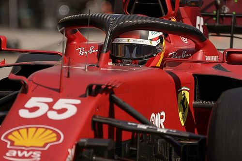 Sainz, desconcertado con los libres 2 de Ferrari, ansía lluvia