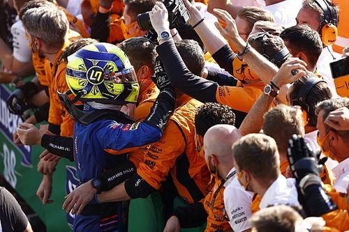 ¡Pole de Norris y segundo puesto de Sainz en la locura de Rusia!