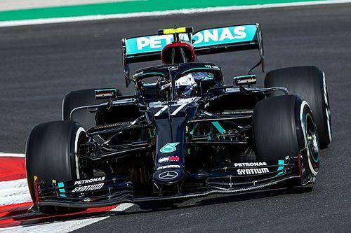 Portekiz GP 2. antrenman: İki kez durdurulan seansta lider Bottas!