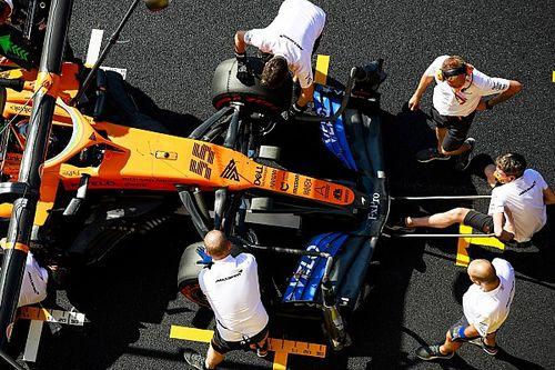 McLaren, yeni parçalar üzerinde çalışmaya devam ediyor