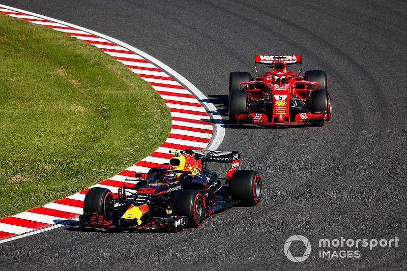 """Vettel: """"Verstappen nu rustiger dan enkele jaren geleden"""""""