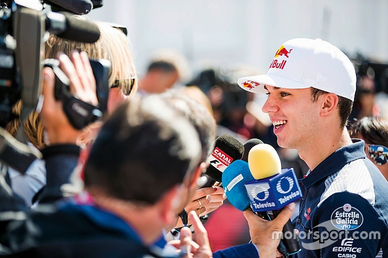 Is Gasly praying for a Ricciardo Red Bull exit?