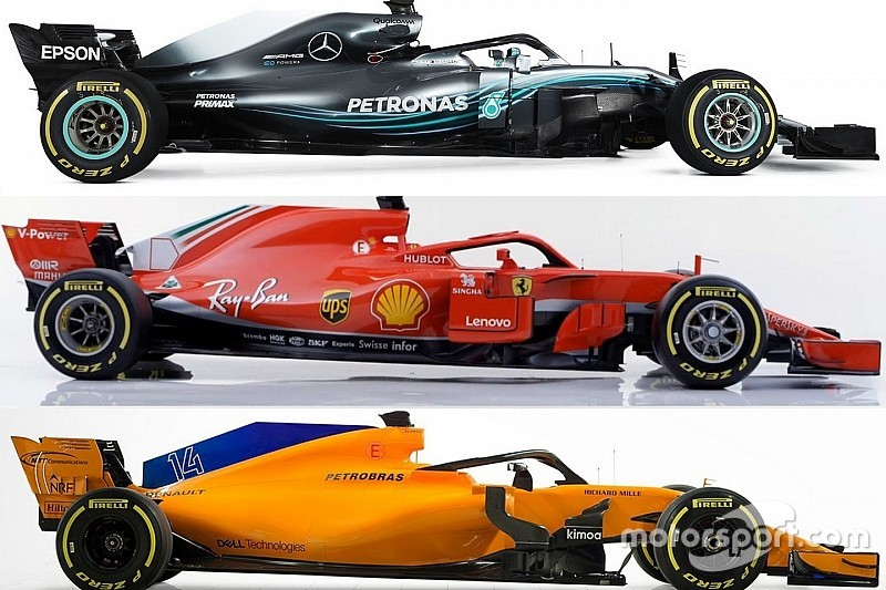2018 F1 araçlarıyla ilgili her şey
