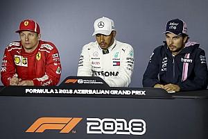 Formula 1 Press conference Azerbaijan GP: Post-race press conference