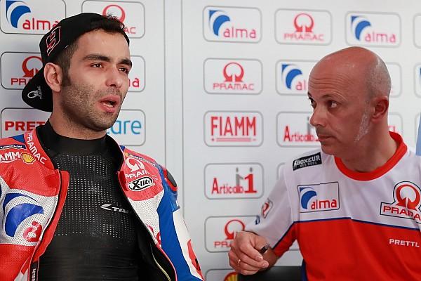 MotoGP Reactions Petrucci: Saya sangat ketakutan
