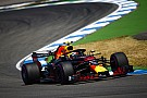 German GP: Verstappen leads FP2 despite hitting trouble