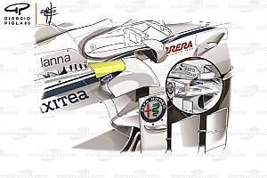 Formule 1 Analyse Technique - Les importantes modifications sur la Sauber C37
