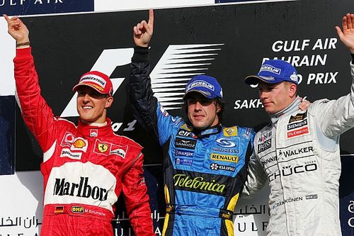Alonso, Raikkonen y el cambio de generación que representan