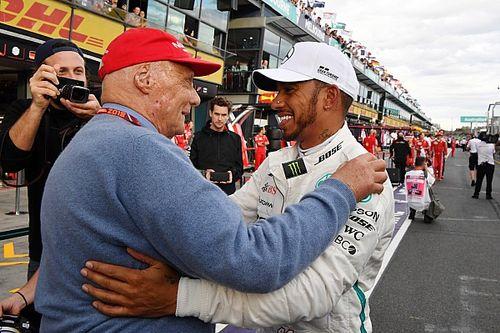 Hamilton: Lauda olmasaydı muhtemelen bir şampiyonlukta kalırdım