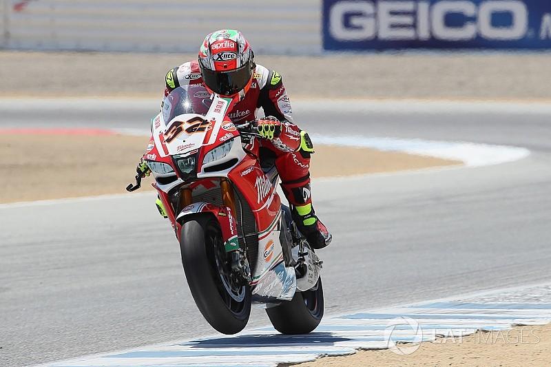 Гонщик WSBK Савадорі тестуватиме мотоцикл Aprilia MotoGP
