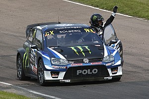 World Rallycross Réactions Solberg a mis fin à plus d'un an de disette