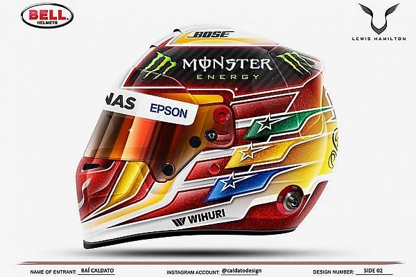 Hamilton ha scelto: ecco  casco