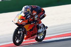 Moto3 Nieuws Lastige kwalificatiedag eindigt positief voor Bendsneyder