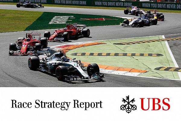 Formel 1 James Allen: UBS-Rennstrategie-Report für F1 in Monza