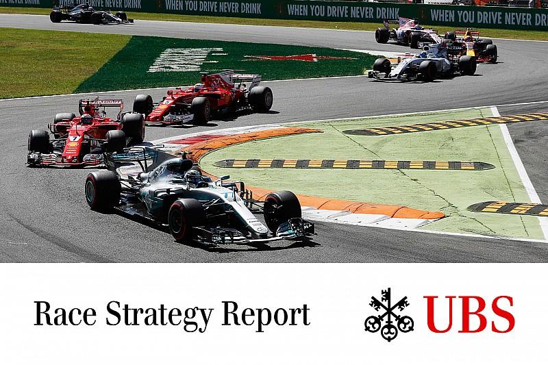 James Allen: il report UBS sulle strategie della gara di Monza