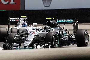 Formula 1 Practice report Brazilian GP: Rosberg pips Hamilton in final practice
