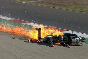 WSBK Noticias de última hora Tom Sykes, baja en Portimao tras un espectacular accidente