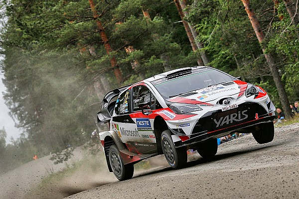 Finland WRC: Lappi leads from Suninen into final day