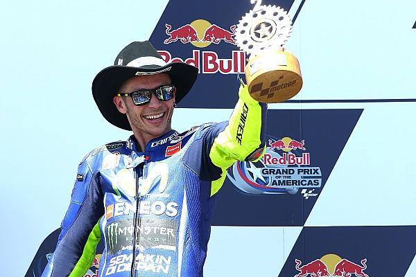 Rossi: Austin'in ardından şampiyona liderliği büyük bir sürpriz
