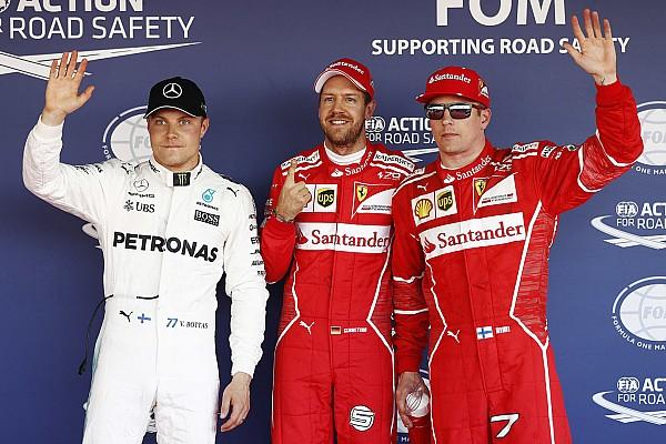Formula 1 Hasil Grid start balapan GP Rusia 2017