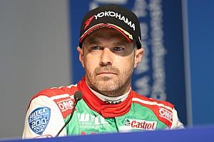 WTCC 速報ニュース モンテイロ、最終戦も欠場「復帰に向けて、不必要なリスクを避ける」
