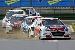 World Rallycross Preview Loeb a la troisième place du championnat en ligne de mire
