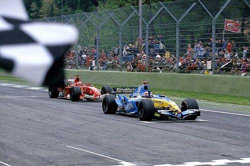 La histórica defensa de Alonso ante Schumacher para ganar en Imola