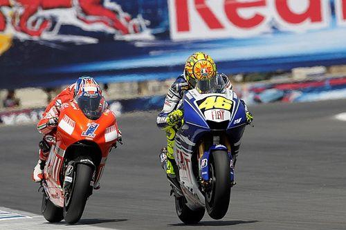 Laguna Seca 2008, duel déterminant pour Rossi et Stoner