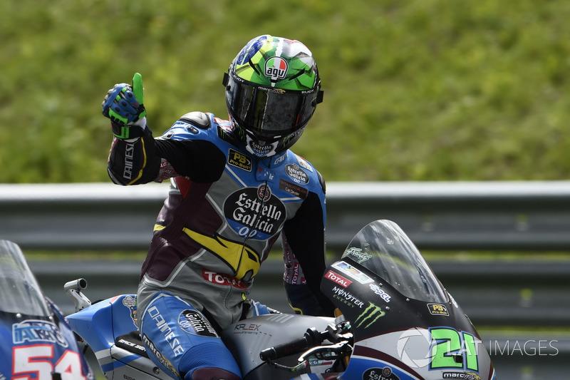 Na Moto2, Franco Morbidelli mais uma vez levou a melhor  e disparou na liderança do campeonato