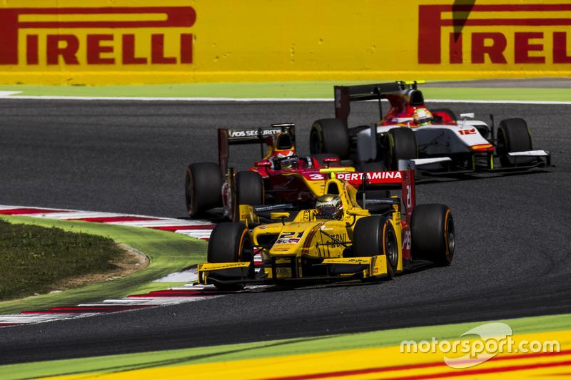 Sean Gelael, Pertamina Arden, Louis Deletraz, Racing Engineering, Roberto Merhi, Campos Racing