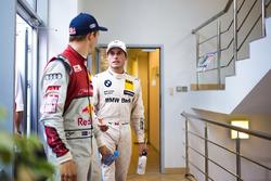 2. Mattias Ekström, Audi Sport Team Abt Sportsline, Audi A5 DTM; 3. Bruno Spengler, BMW Team RBM, BMW M4 DTM