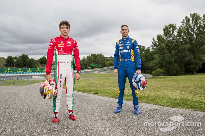 Charles Leclerc, PREMA Powerteam and Nicholas Latifi, DAMS