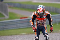 Chute de Dani Pedrosa, Repsol Honda Team
