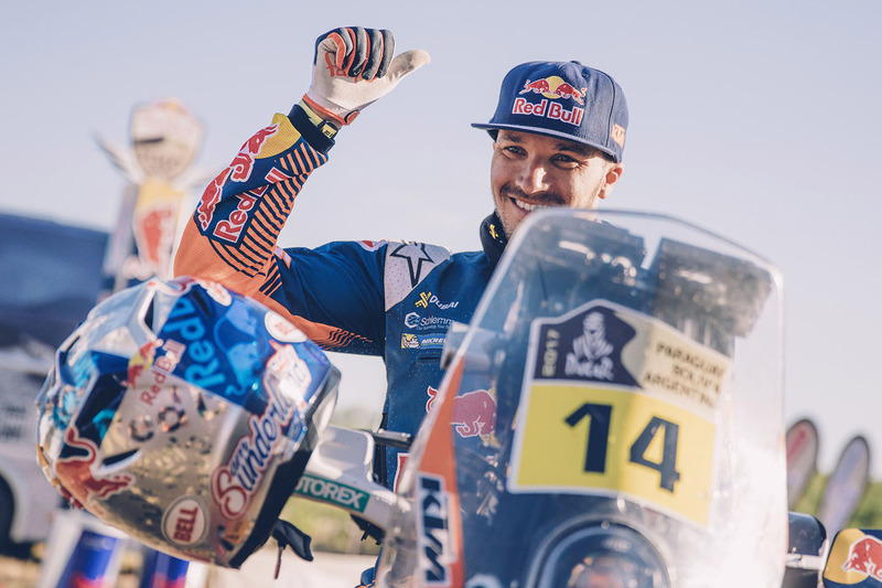 Ganador Sam Sunderland, Red Bull KTM Factory Racing