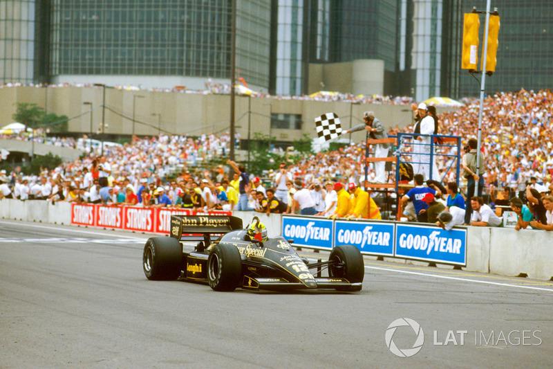1986: Ayrton Senna (Lotus 98T Renault)