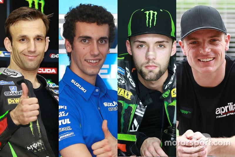 Les rookies MotoGP 2017