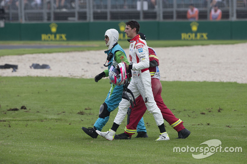 Unfall: Nick Percat, Brad Jones Racing, Holden