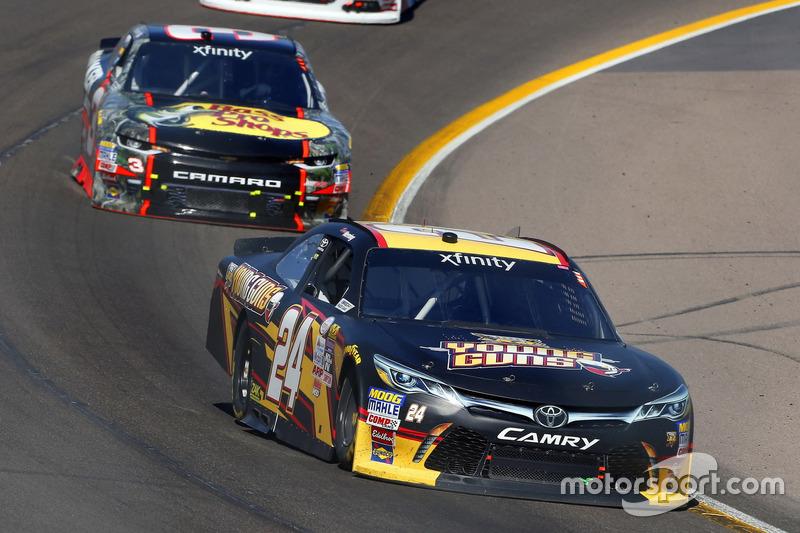 Drew Herring, JGL Racing, Toyota; Ty Dillon, Richard Childress Racing, Chevrolet