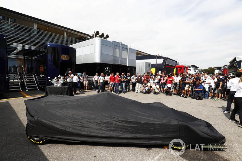 Präsentation: Neues Formel-2-Auto für 2018