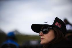 Brad Keselowski Racing PR person Jessica Trippy