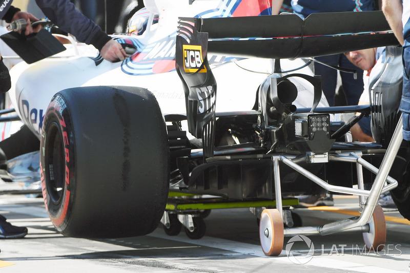 L'arrière de la Williams FW40
