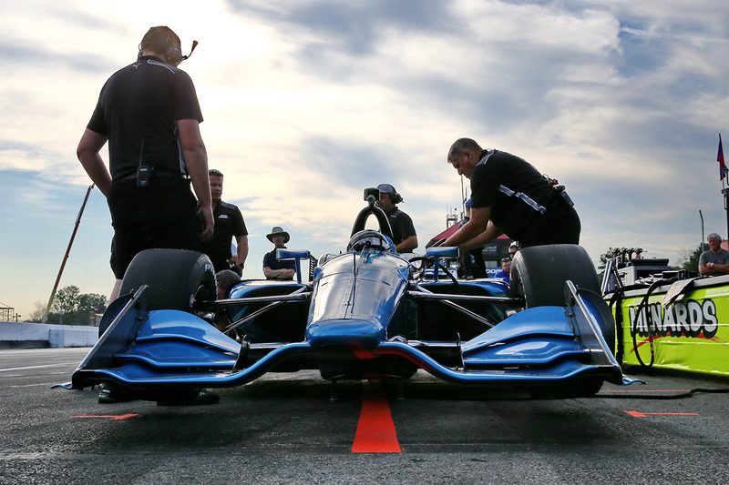 Хуан-Пабло Монтойя тестирует Chevrolet 2018-го