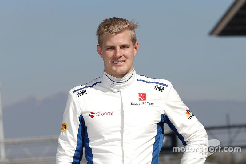 #9 马库斯•埃里克森——索伯F1车队