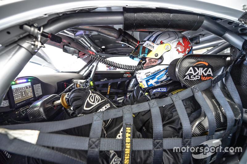 #89 Akka ASP,Mercedes-AMG GT3: Alex Fontana