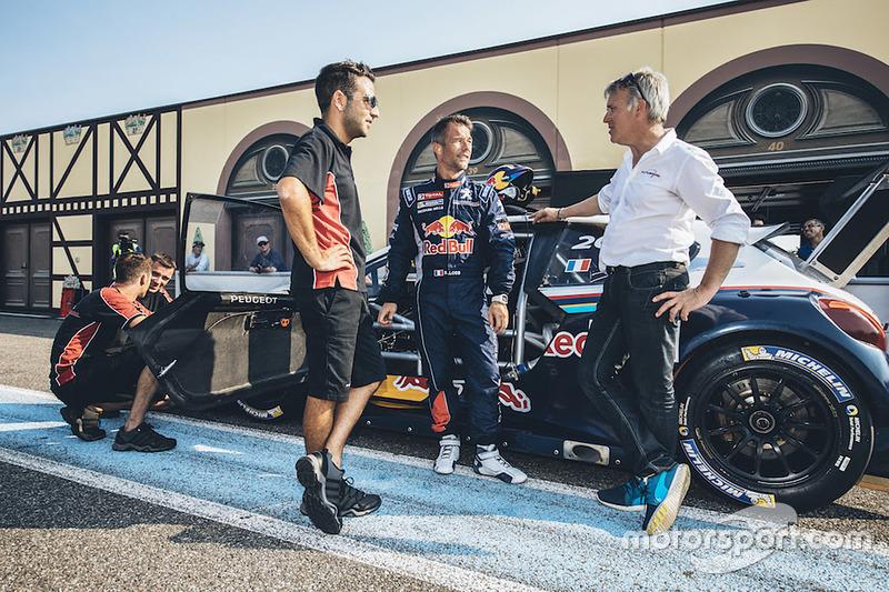 Sébastien Loeb testet den Peugeot 208 Pikes Peak
