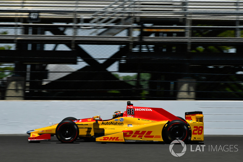10. Ryan Hunter-Reay, Andretti Autosport, Honda