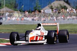 Stefan Johansson, Footwork FA12 Porsche