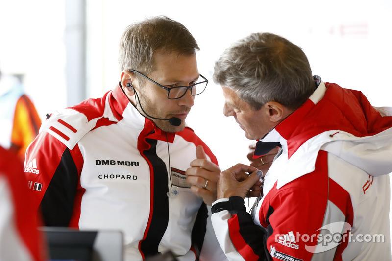 Andreas Seidl, Team Principal Porsche Team LMP, Fritz Enzinger, Directeur Porsche Team LMP1